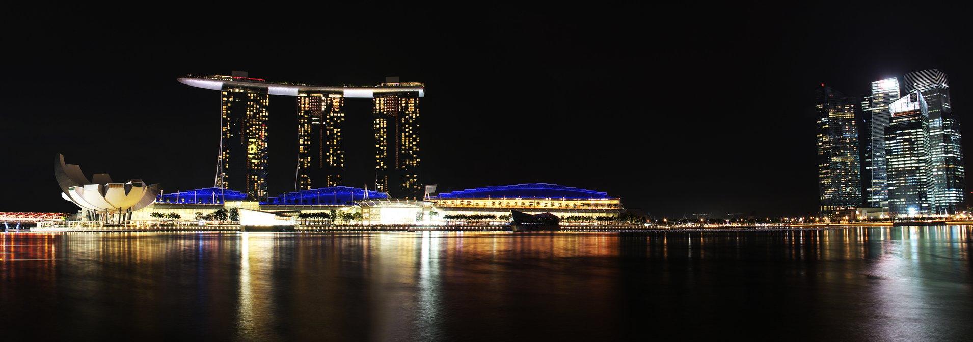 singaporemarinabayhighresolutionnight
