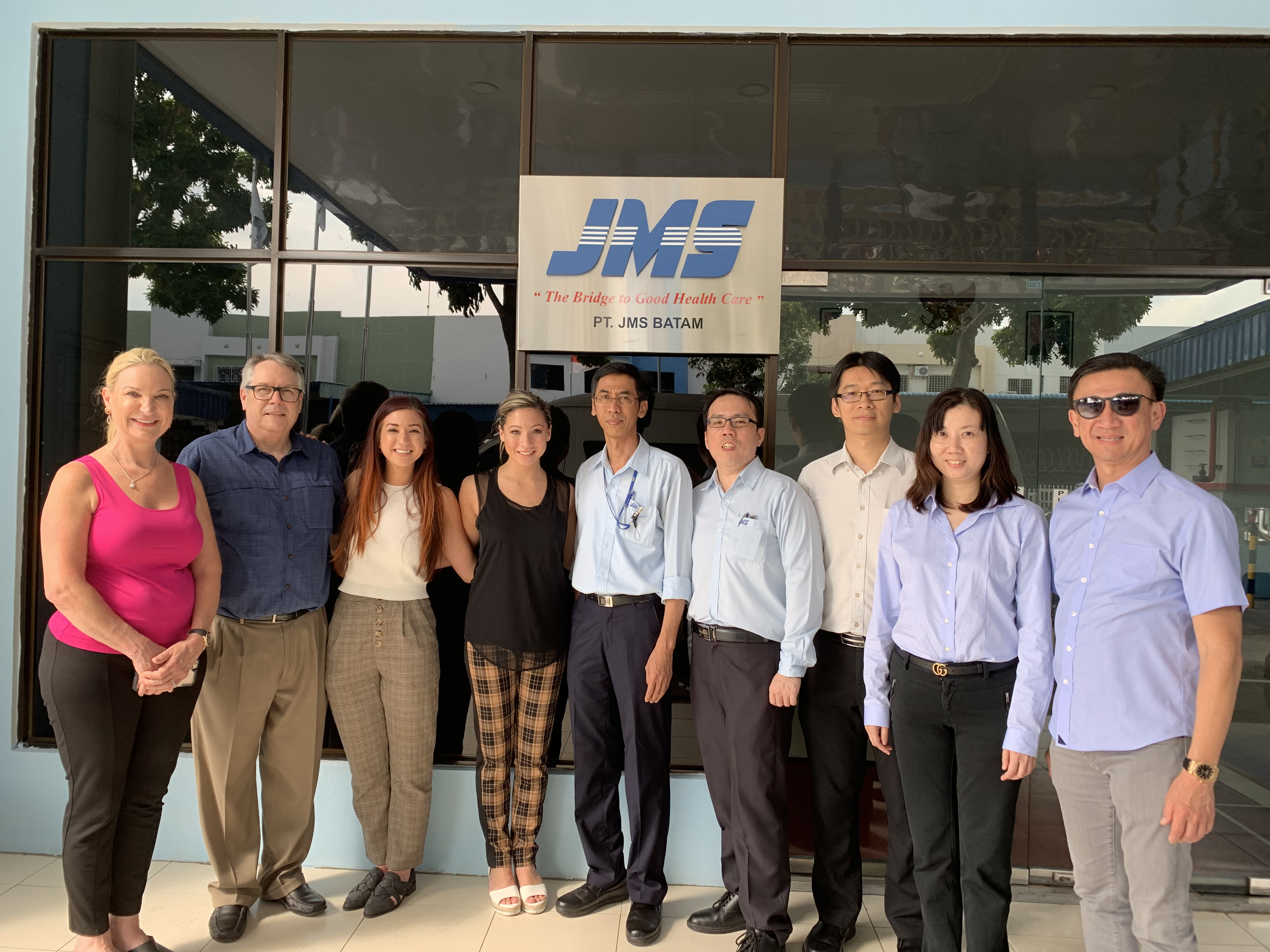 JMS Singapore Welcomes Our Partners from AOSS Medical Supply